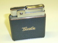 """ROWENTA """"TOP"""" POCKET LIGHTER WITH LEATHER COAT """"GEOFRA"""" - 1950/60 - GERMANY"""