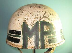 Belgian MP British R.A.C-style helmet 1952 casque stahlhelm casco 胄 шлем para 52
