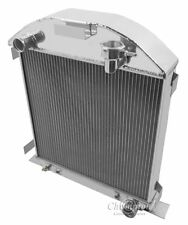 1928-1929 Ford Model A Chevy configuration Aluminum 3 Row Champion Radiator