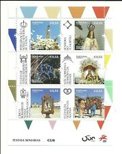 Portugal 2020 - Feasts and Pilgrimages, Places of Faith mini sheet MNH