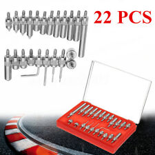 22pcs Indicator Point Set End Tips Digital Dial Test Measurement Machinist Tool