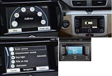 ORIGINALI VW radio sistema di navigazione RNS 315 UE TOURAN GOLF 6 CADDY JETTA KDE