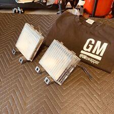 Turn Signal Side Corner Marker Lamp Light Pair Set for Chevy GMC Pickup Truck LS