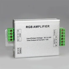 RGB Amplifier DC12-24V Data Repeater Signal Amplifier for 5050/3528 Strip Light