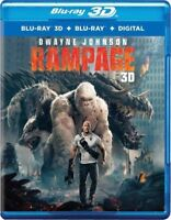 Rampage 3D (Blu-ray 3D + Blu-ray + Digital)