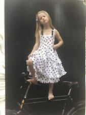 Jottum Big Girls Salanya Polka Dot Summer Suspender Dress  Sz US 12/152 EUC