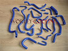 22pcsFOR Nissan Silvia/180SX/200SX S13 CA18DET 89-94 silicone radiator hose BLUE