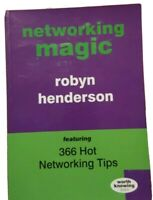 Networking Magic Book 366 Hot Networking Tips by Robyn Henderson Paperback