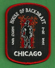 CHICAGO FIRE DEPARTMENT ENGINE 65 TRUCK 52 COMPANY PATCH HOUSE OF BACKDRAFT