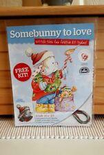 (C) Somebunny To Love -  Christmas -  Cross Stitch Kit