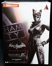 "Play Arts Kai Batman Arkham City Catwoman 8""/20cm Action Figure Nuovo! RARO!"