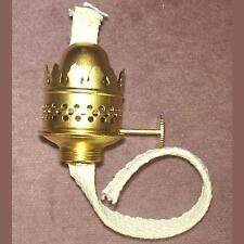 brass #00 Nutmeg Burner miniature oil lamp