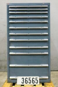 Schubladenschrank Werkstattschrank Lagerschrank Werkzeugschrank 10 Auszüge#36565