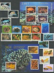 Französisch Polynesien ☀ Fauna - Meereslebewesen ☀ Postfrisch (**)