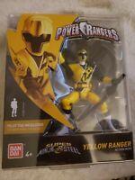 2018 New MOC Bandai Saban's Power Rangers Super Ninja Steel Yellow Ranger
