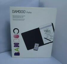 TABLETA GRAFICA Digitalizador - WACOM BAMBOO FOLIO - 210x297 Bluetooth 4.0 NUEVA