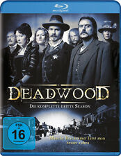 4 Blu-rays * DEADWOOD - STAFFEL / SEASON 3 # NEU OVP +