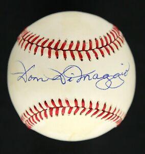 Dom DiMaggio AUTOGRAPHED Rawlings Baseball