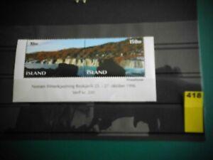 ISLAND (1995) 835-36 postfrisch (Lot 418)