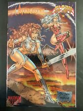 AVENGELYNE / GLORY #1 (vol 1) Chromium (1995 IMAGE Comics) ~ VF/NM Book