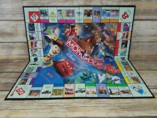 Monopoly Disney Pixar Edition Complete 2007 Hasbro Toy Story Replacement BOARD