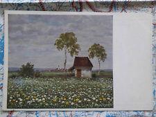 Landschaft Blumen Sommerpracht Gemälde Kunstwerk Postkarte Ansichtskarte 3039