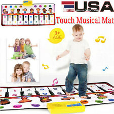 Touch Play Keyboard Musical Music Singing Gym Carpet Mat Developmental Baby Toys