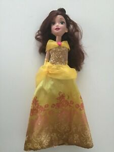 Original 2015 DISNEY PRINCESS ROYAL SHIMMER BELLE DOLL- HASBRO