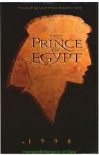 PRINCE OF EGYPT MOVIE POSTER Mini Sheet 11x17 Inch DREAMWORKS ANIMATION FILM