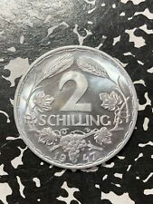 1947 Austria  2 Schilling  (33 Available)  (1 Coin Only) Proof!