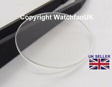 Verre minéral de rechange pour montre plat rond épaisseur 1,5 mm / 18 mm à 40 mm
