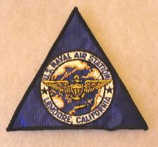 VN ERA US NAVAL AIR STATION LEMDORE, CALIFORNIA EMB ON TWILL ME COTTON GAUZE BK