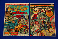 Amazing Spider-Man Lot of 2 Comics #130 and #131 High Grade Key NM 9.4