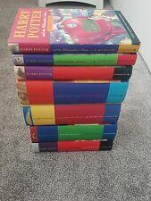 HARRY POTTER HARDBACK BOOKS 1-7 BUNDLE-BLOOMSBURY -SOME 1ST EDITIONS