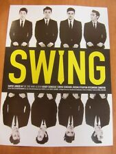 SUPER JUNIOR M - Swing (3rd Mini Album) CD + Unfold POSTER $2.99 Ship K-POP