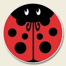 Ladybugs 2Ct Car Coasters