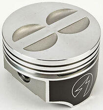"TRW Forged Flat Top Chevy 350 SBC Pistons std bore 4.00"" Set Of 8"