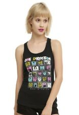 One Direction FRAMED PHOTOS Juniors Tank Top T-Shirt NWT Licensed & Official