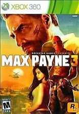 Max Payne 3 (Microsoft Xbox 360, 2012) DISC IS MINT
