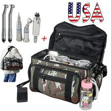 Portable Dental Turbine Unit Air Compressor Suction 3 Way Syringe +Handpiece Kit