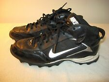 Nike Land Shark Men's Black Baseball Softball Cleats 318728 - US 6.5 (EU 39)