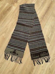 Vivienne Westwood Striped Scarf Orb