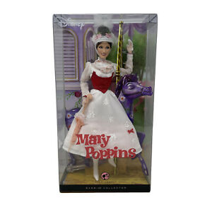 Disney Julie Andrews as Mary Poppins Barbie Doll 2007 NRFB New In Box NRFB