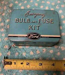 Vintage Ford Bulb And Fuse Kit Auto Memorabilia