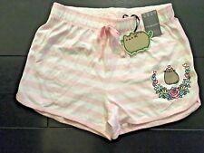 PUSHEEN The Cat Pink & White Shorts Ladies Womens Licensed Primark VARIOUS SIZES