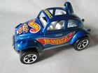 1983 Hot Wheels VW Volkswagen Baja Beetle Nithia Racing Bug Malaysia (Blue) #835