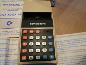 Commodore  897D Solid State Electronic Calculator Taschenrechner