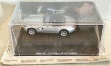 BMW Z8 diecast James Bond 007 car The WORLDWIDE is not enough 2007 New in box
