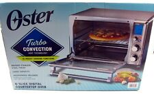 NEW Oster Digital Stainless Steel Countertop Turbo Convection Oven TSSTTVDFL1