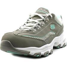 Zapatillas deportivas de mujer Skechers de tacón medio (2,5-7,5 cm) de piel